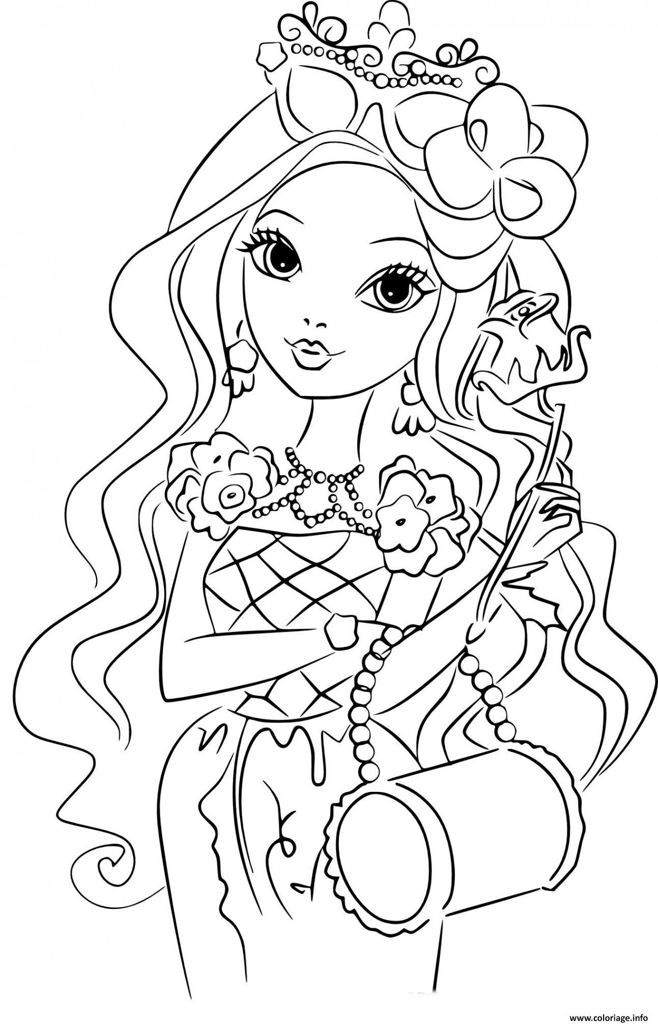Coloriage Fille 8 Ans Barbie Bimbo Fashion Dessin serapportantà Coloriage Gratuit À Imprimer Pour Fille