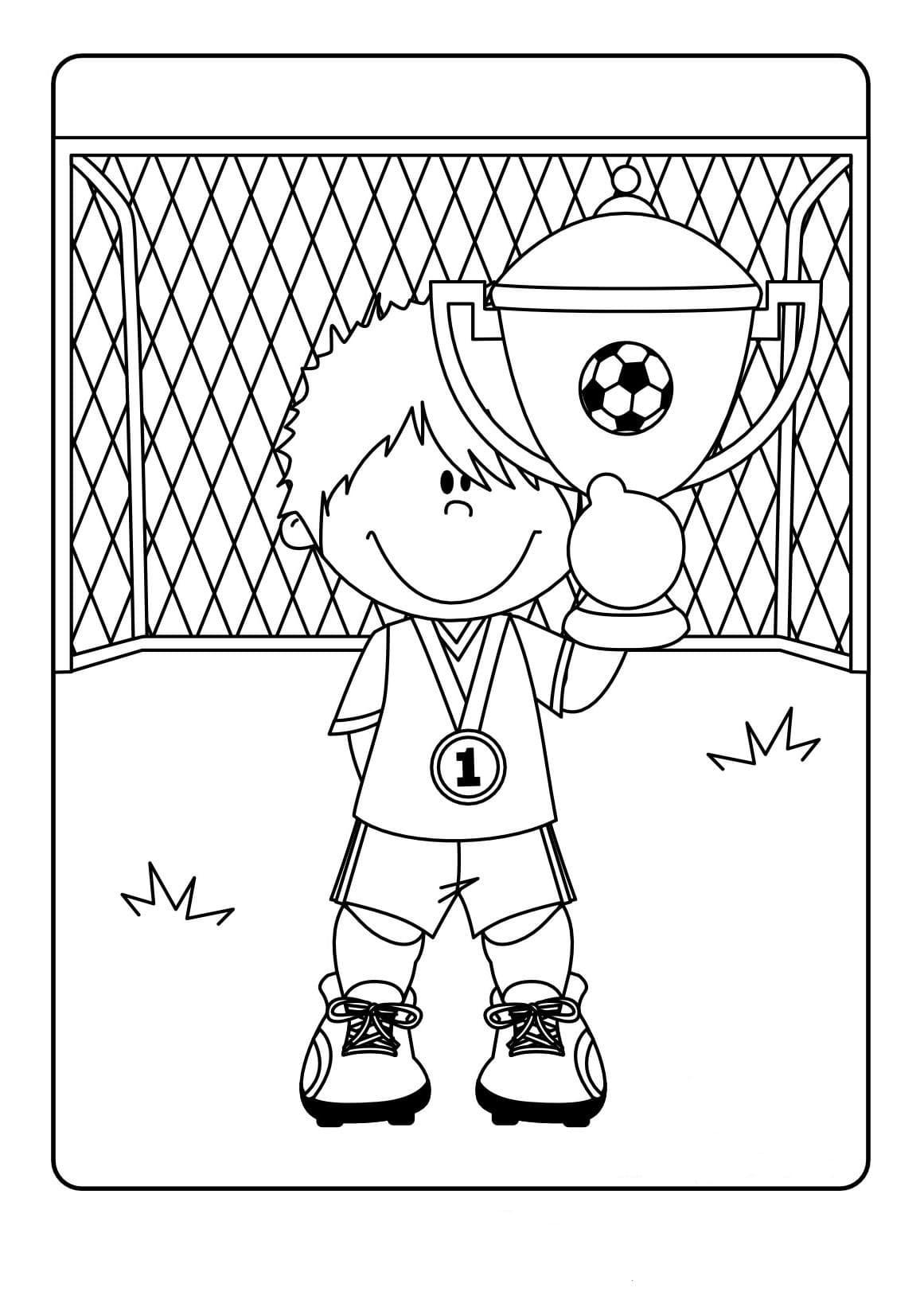 Coloriage Football. Impression En Ligne Pour Garçons, 80 Images concernant Coloriage De Foot En Ligne