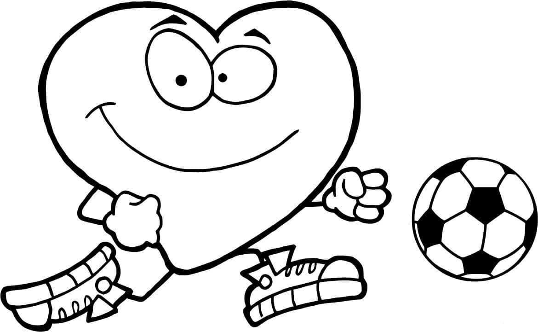 Coloriage Football. Impression En Ligne Pour Garçons, 80 Images tout Coloriage De Foot En Ligne