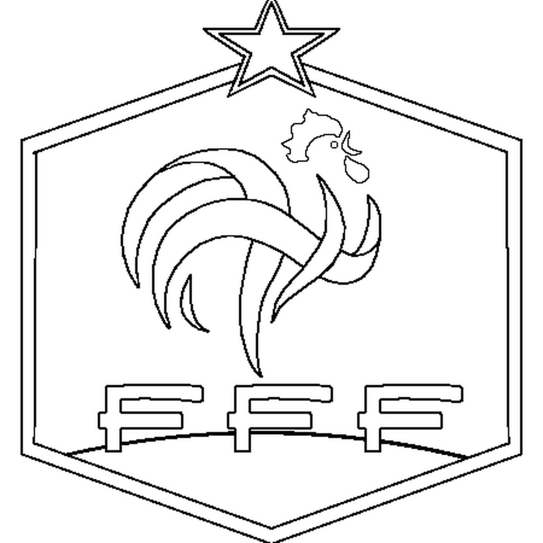 Coloriage France Football En Ligne Gratuit À Imprimer encequiconcerne Coloriage De Foot En Ligne