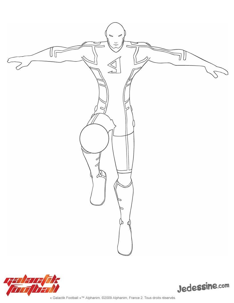 Coloriage Galactik Football En Ligne intérieur Coloriage De Foot En Ligne