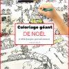 Coloriage Géant De Noël : Le Village En Hiver - Un Jour Un Jeu pour Coloriage Village De Noel