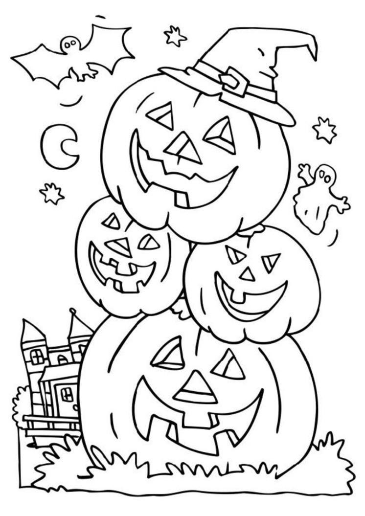 Coloriage Halloween 3 Ans Wallpaper On | Gavindegraw serapportantà Dessin Halloween Citrouille A Imprimer Gratuit