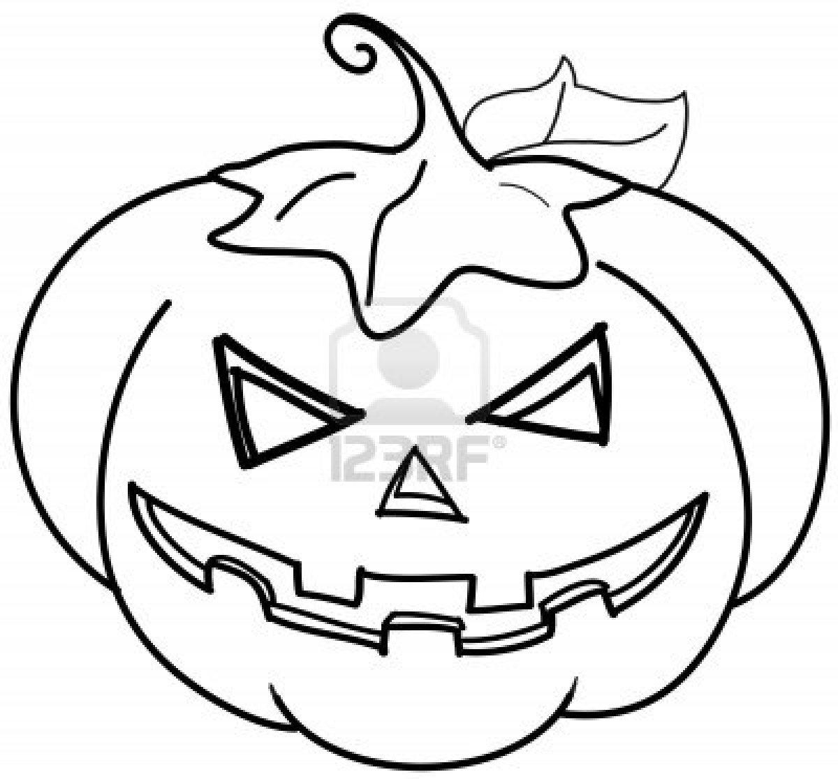 Coloriage Halloween Citrouille - Les Beaux Dessins De pour Dessin Halloween Citrouille A Imprimer Gratuit