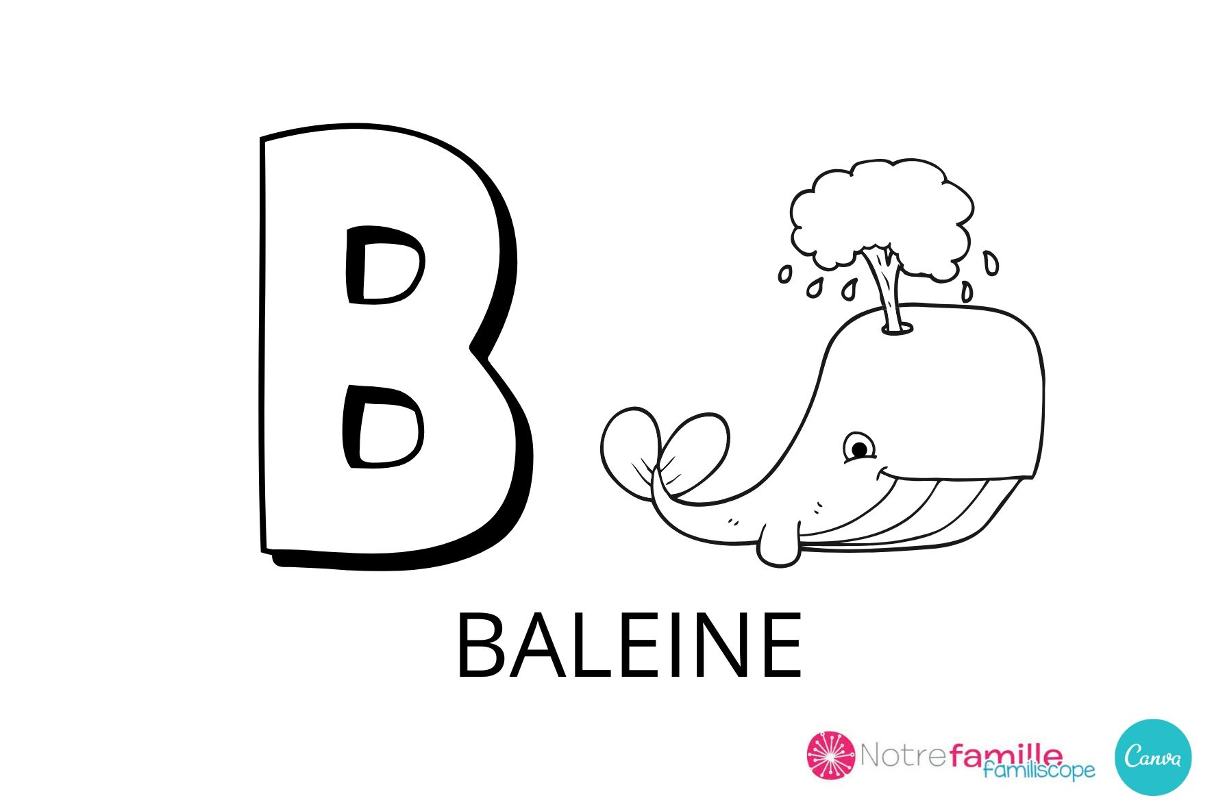Coloriage Lettre B À Imprimer intérieur Coloriage Alphabet Complet A Imprimer