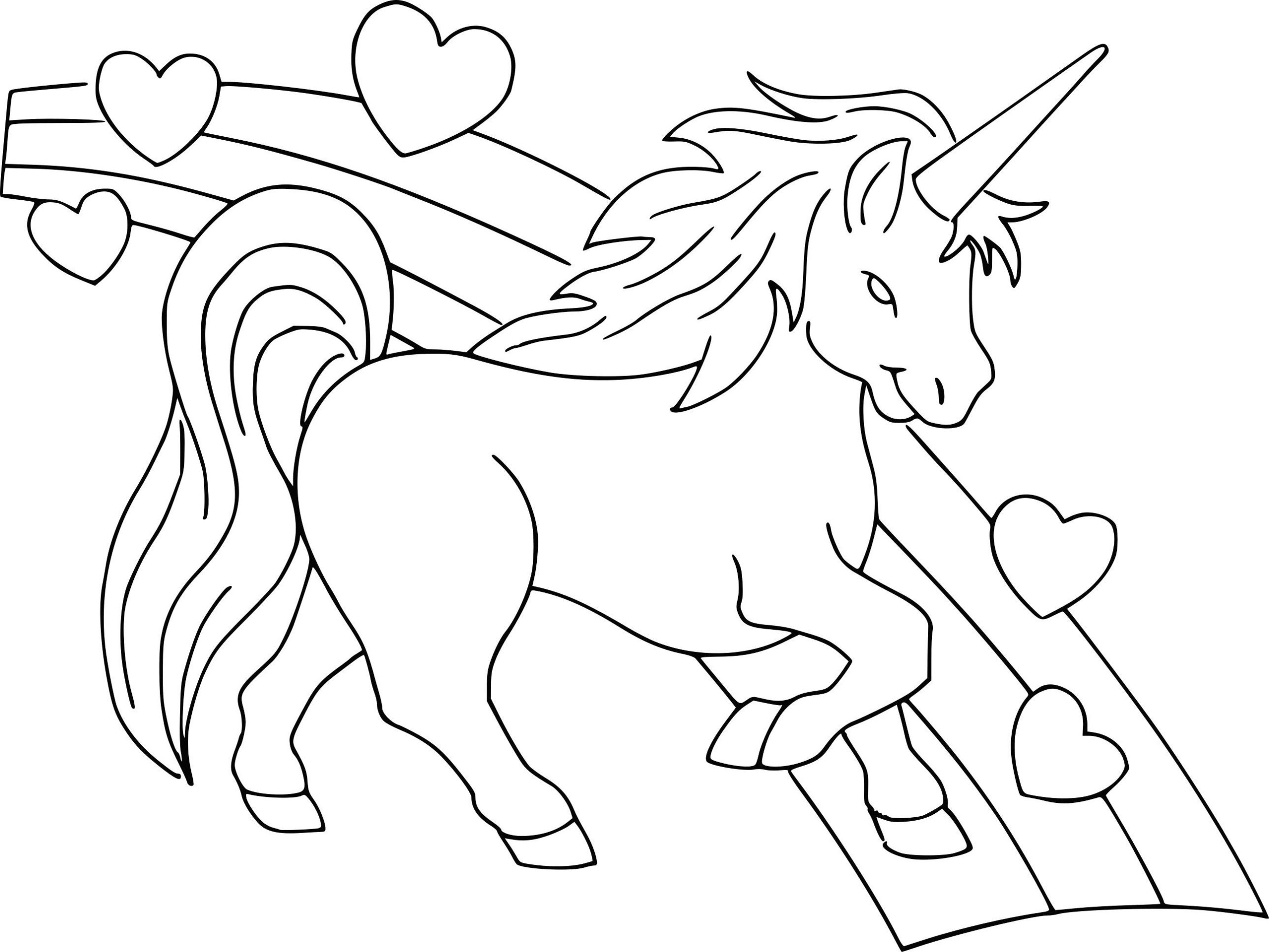 Coloriage Licorne Huntcounty Avec Coloriages Coloriage destiné Jeux De Coloriage Licorne