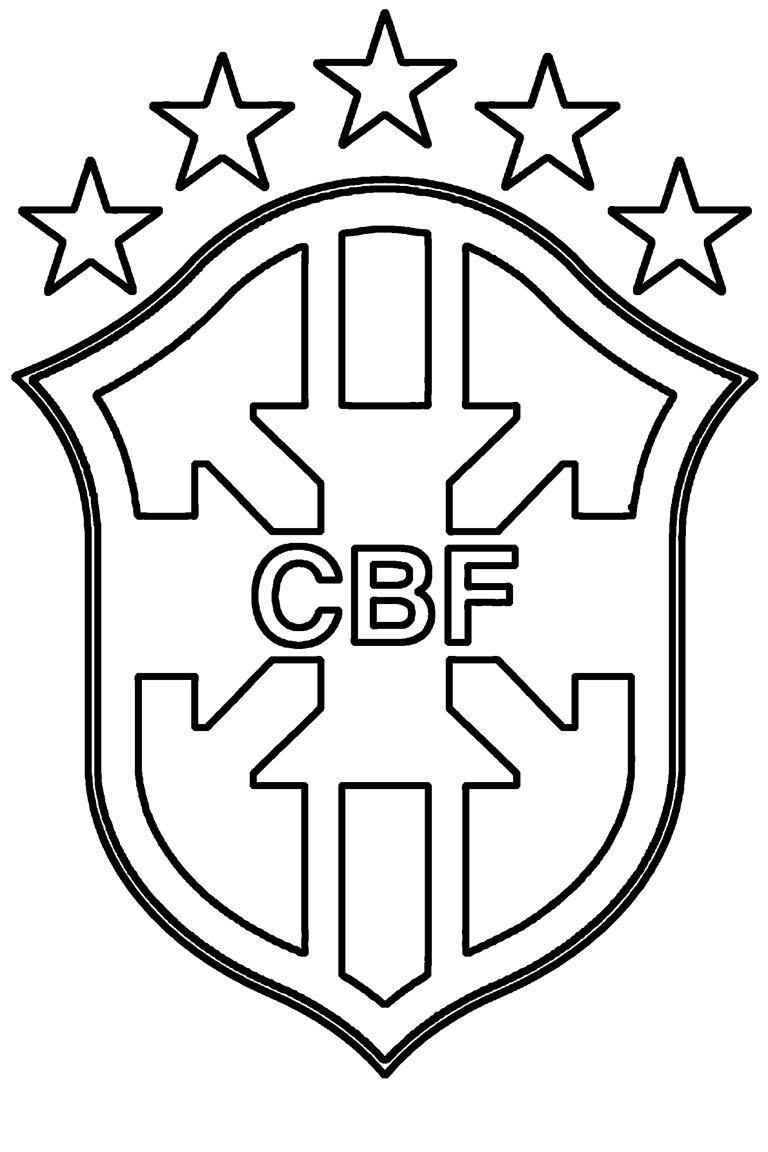 Coloriage Logo De Foot - Les Beaux Dessins De Sport À serapportantà Coloriage De Foot En Ligne