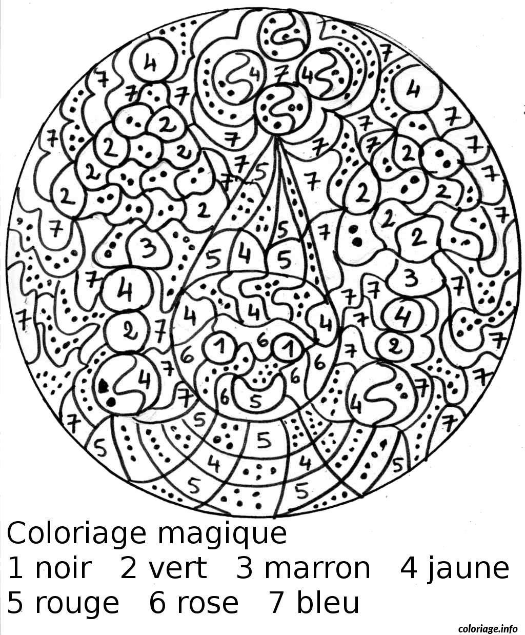 Coloriage Magique 78 Dessin destiné Coloriage Magique A Imprimer Ce2 Gratuit