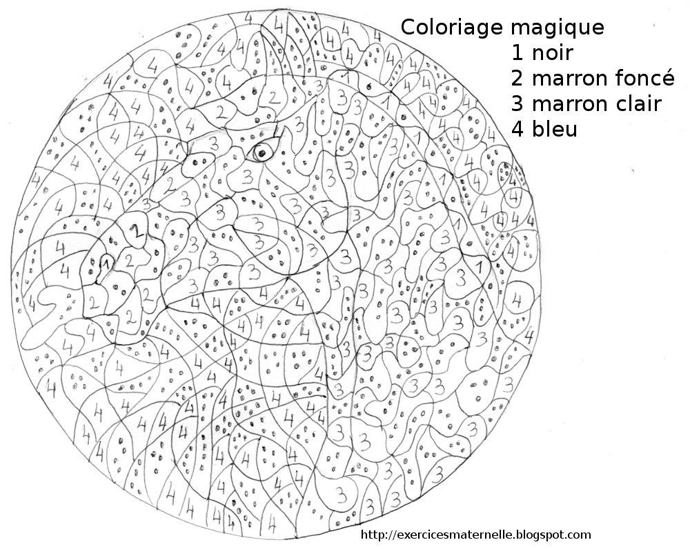 Coloriage Magique #89 (Éducatifs) – Coloriages À Imprimer à Jeux De Coloriage Magique Cm1