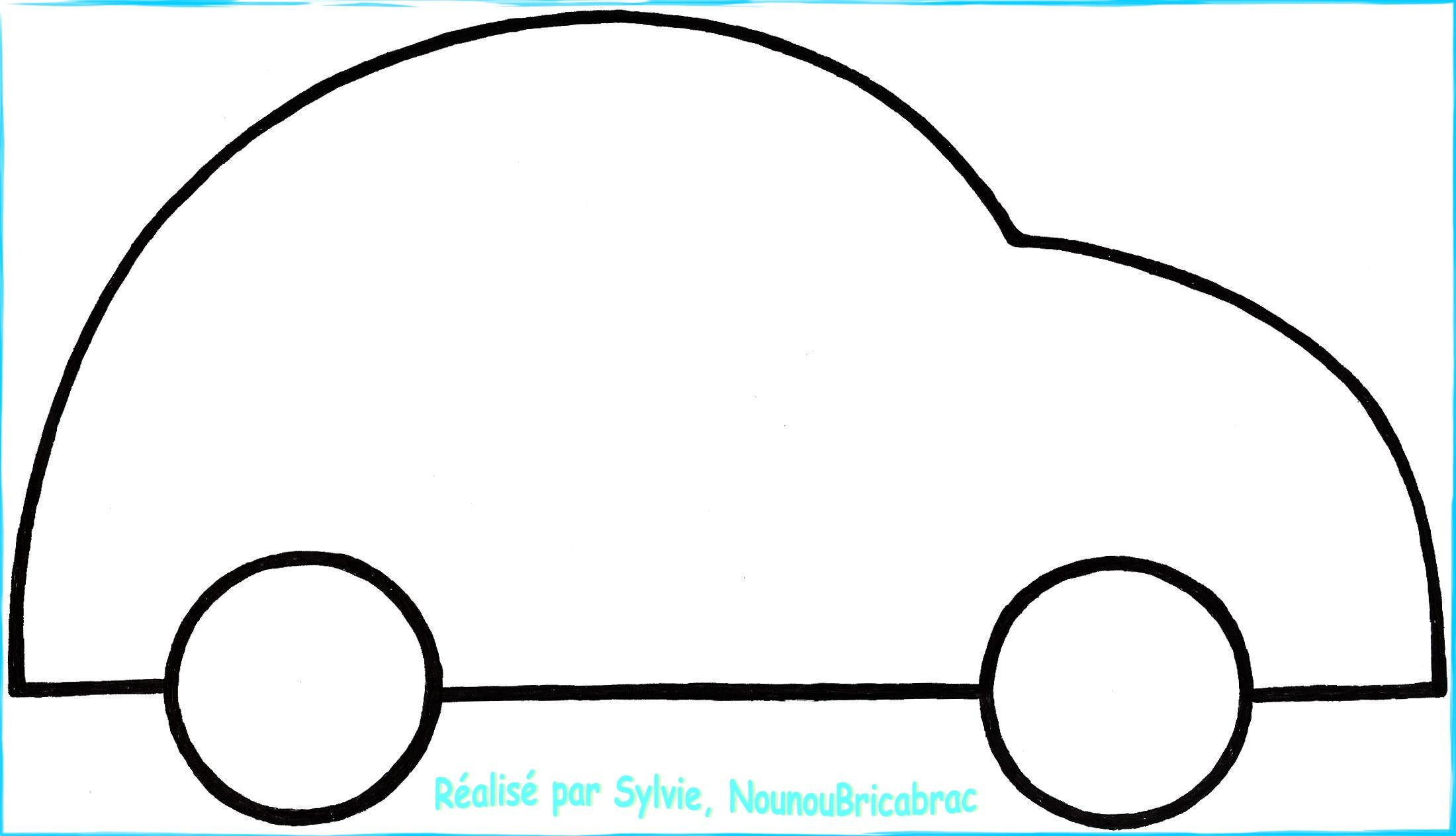 Coloriage Magique Auto destiné Voiture Facile À Dessiner