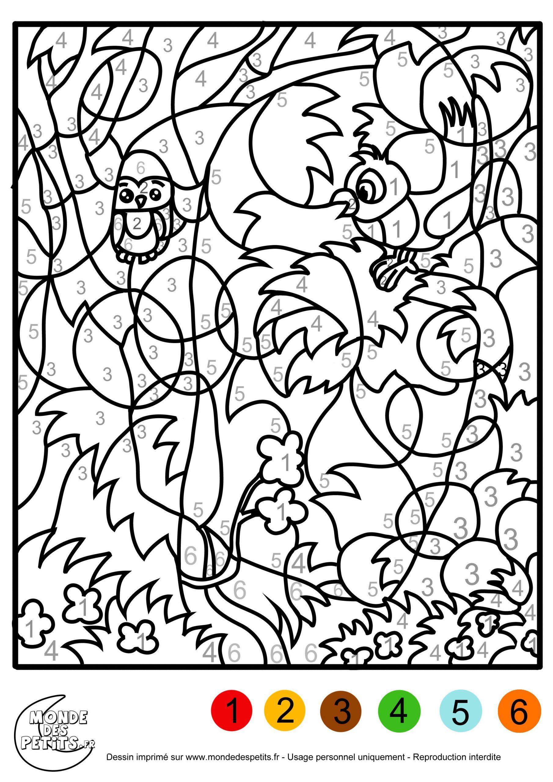 Coloriage Magique Gs À Colorier - Dessin À Imprimer encequiconcerne Coloriage Magique Maternelle Grande Section