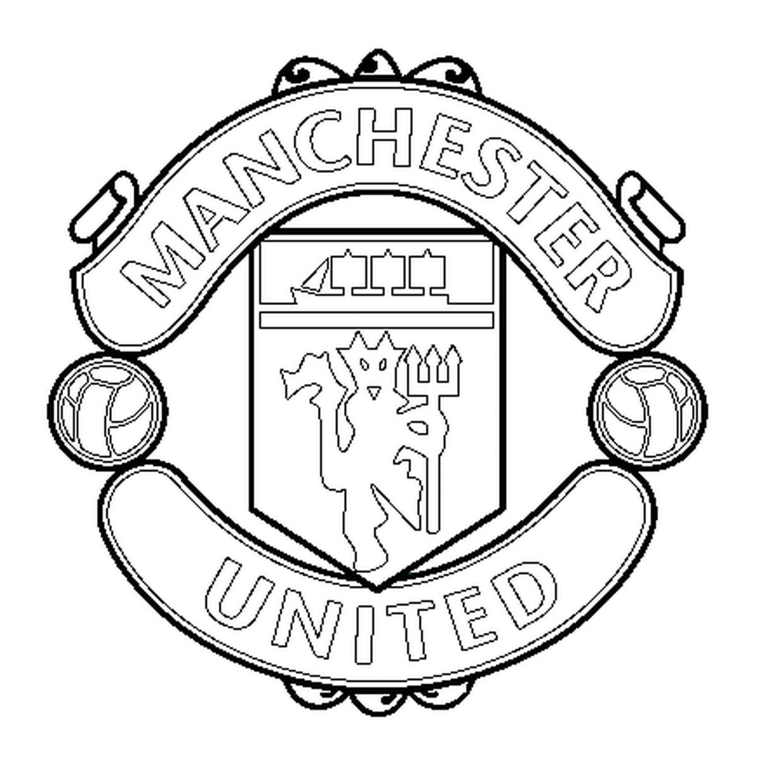 Coloriage Manchester United En Ligne Gratuit À Imprimer concernant Coloriage De Foot En Ligne