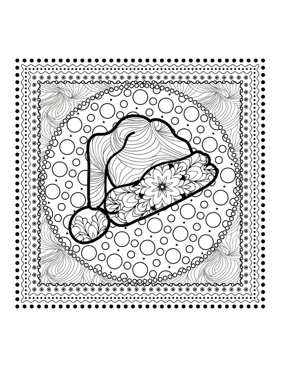 Coloriage Mandala De Noël : 30 Dessins À Imprimer destiné Dessin A Colorier De Noel Gratuit A Imprimer