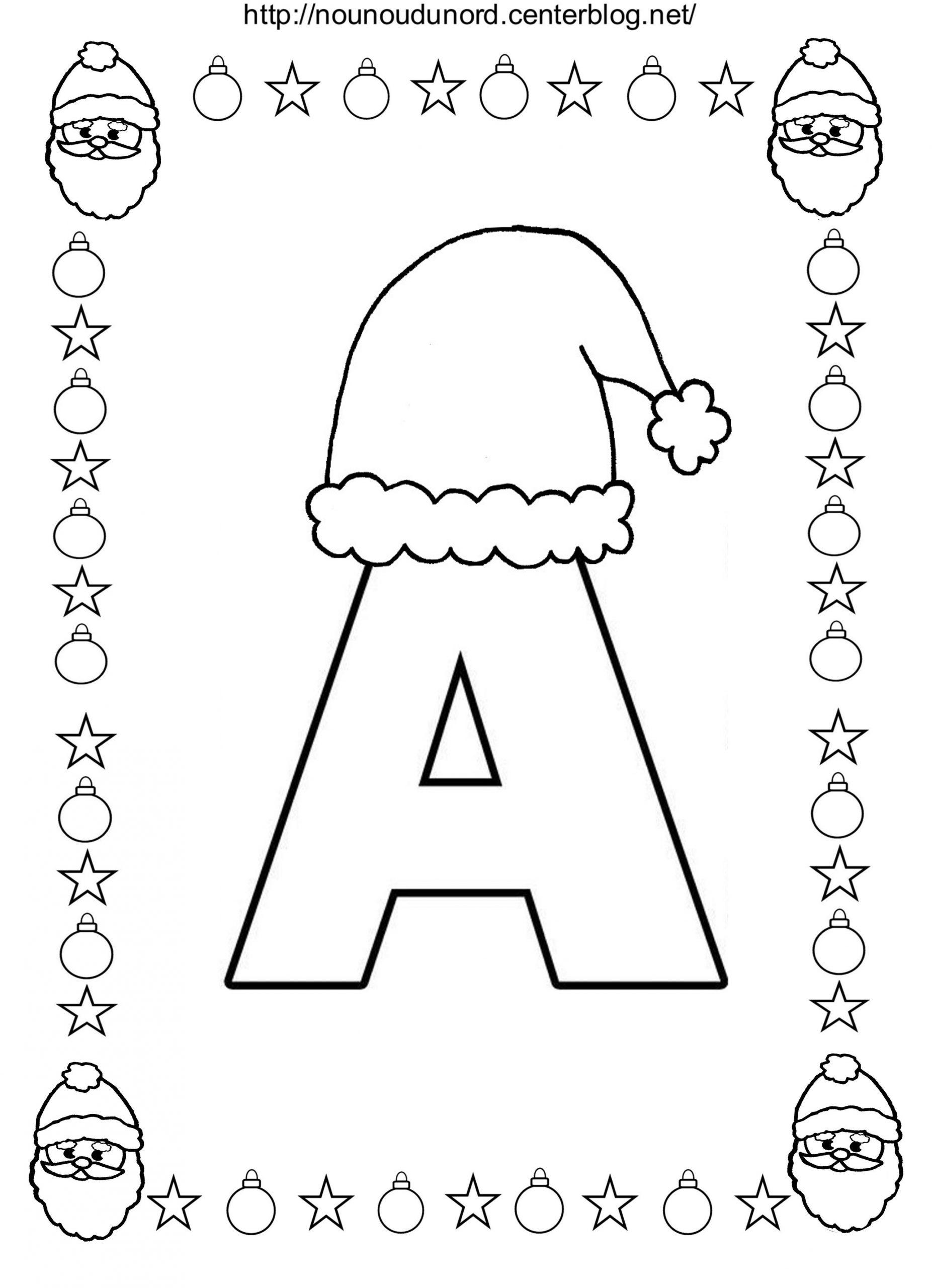 Coloriage No L Alphabet encequiconcerne Alphabet À Colorier Maternelle