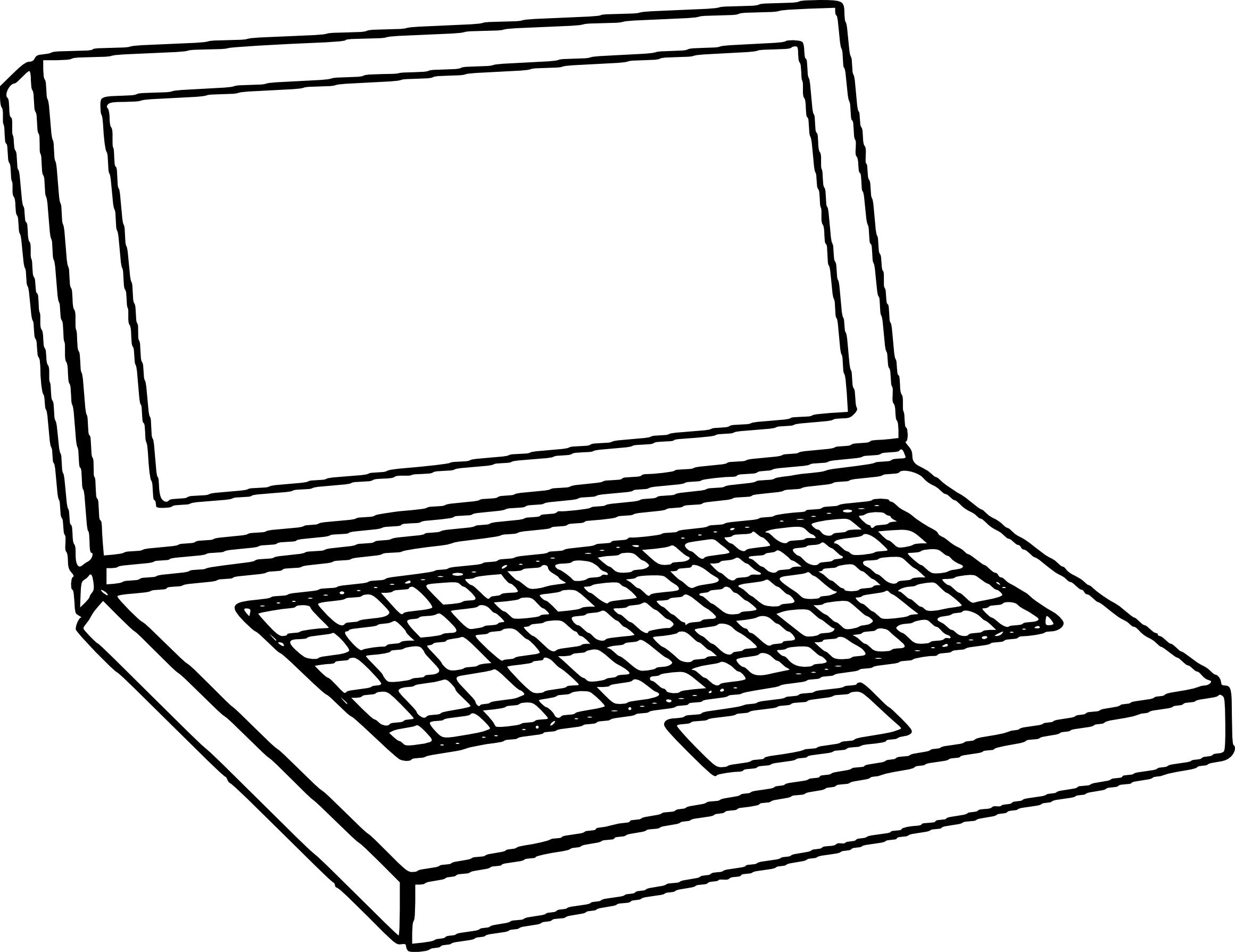 Coloriage Ordinateur Portable À Imprimer Sur Coloriages encequiconcerne Dessin À Colorier Sur L Ordinateur
