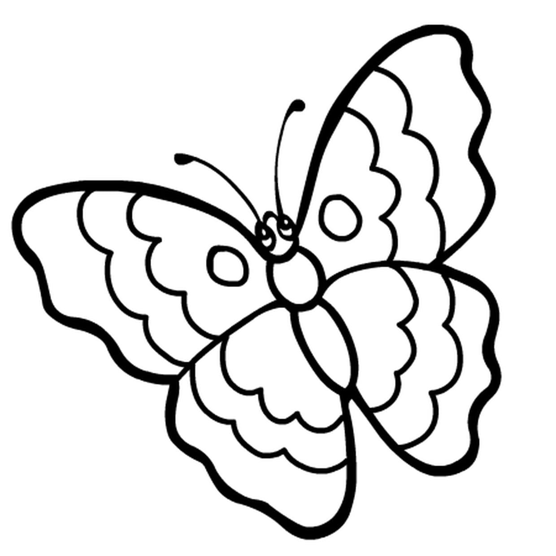 Coloriage Papillon Rigolo En Ligne Gratuit À Imprimer avec Jeux Papillon Gratuits Ligne