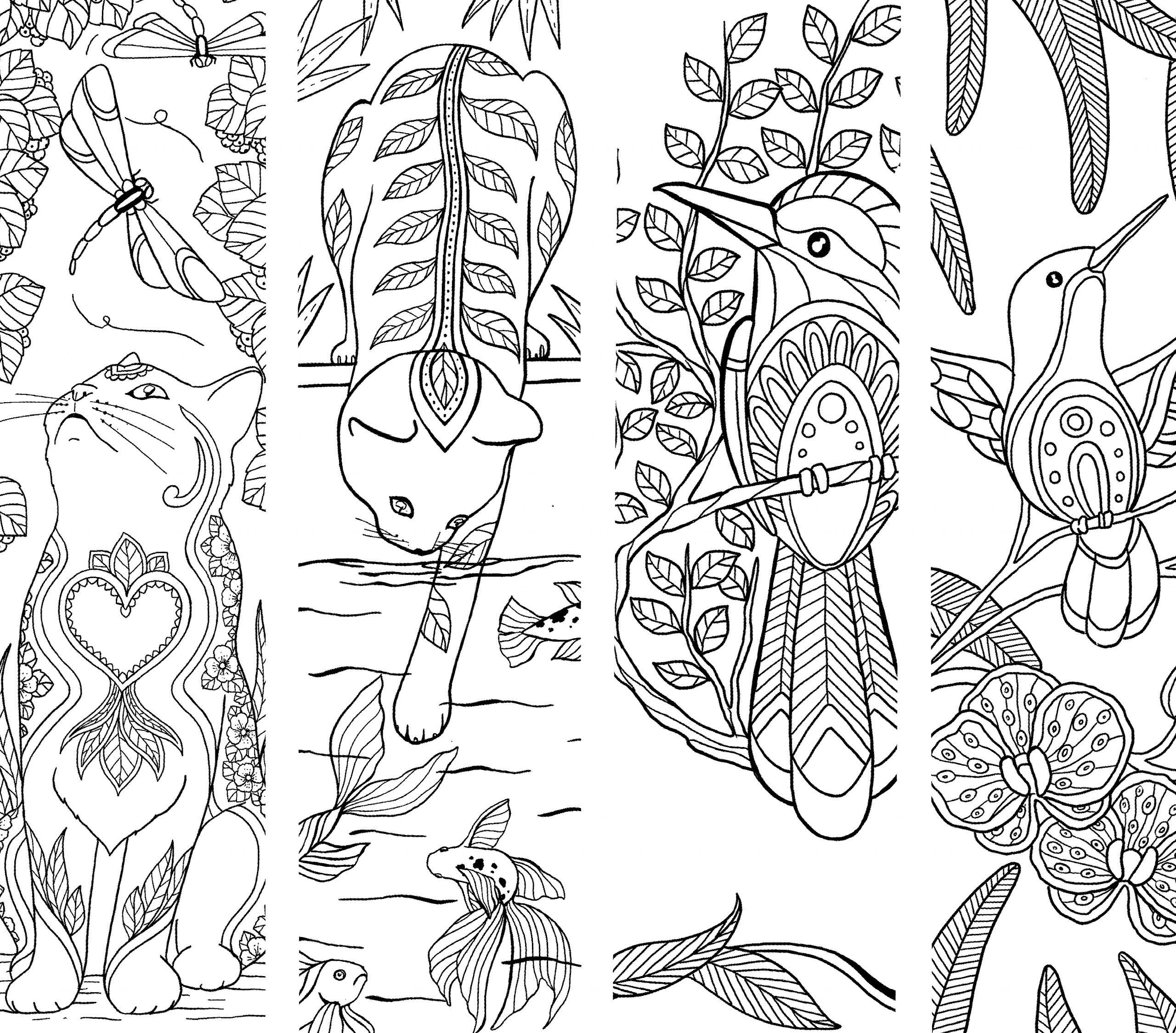 Coloriage Pour Enfants Et Adultes Zen Et Anti-Stress, Mandala pour Marque Page À Colorier