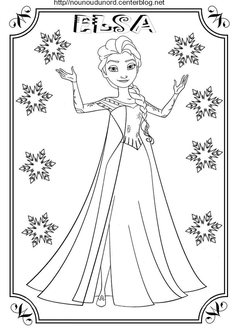 Coloriage Reine Des Neiges concernant Reine Des Neiges Dessin À Colorier
