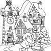 Coloriage Village Du Père Noël À Imprimer Sur Coloriages serapportantà Coloriage Village De Noel