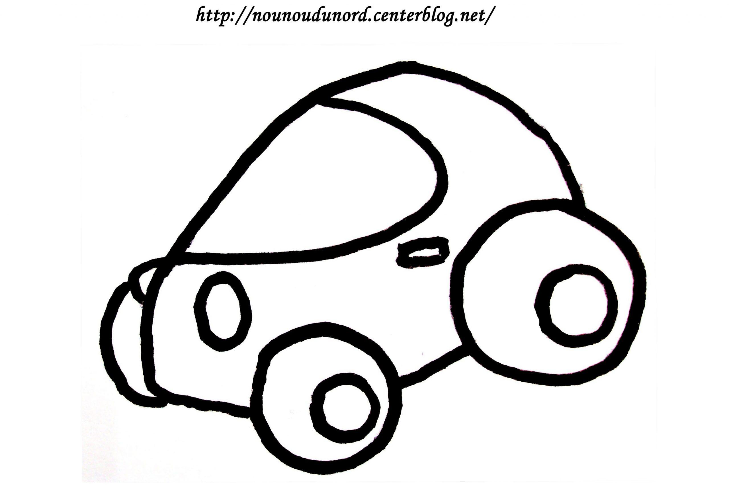 Coloriage Voiture De Course Dessiné Par Nounoudunord. serapportantà Coloriage Vehicule