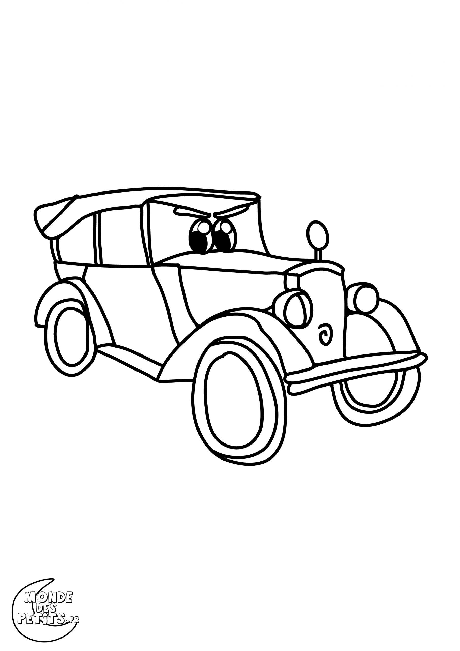Coloriage Voiture De Course - Les Beaux Dessins De Transport serapportantà Coloriage Vehicule