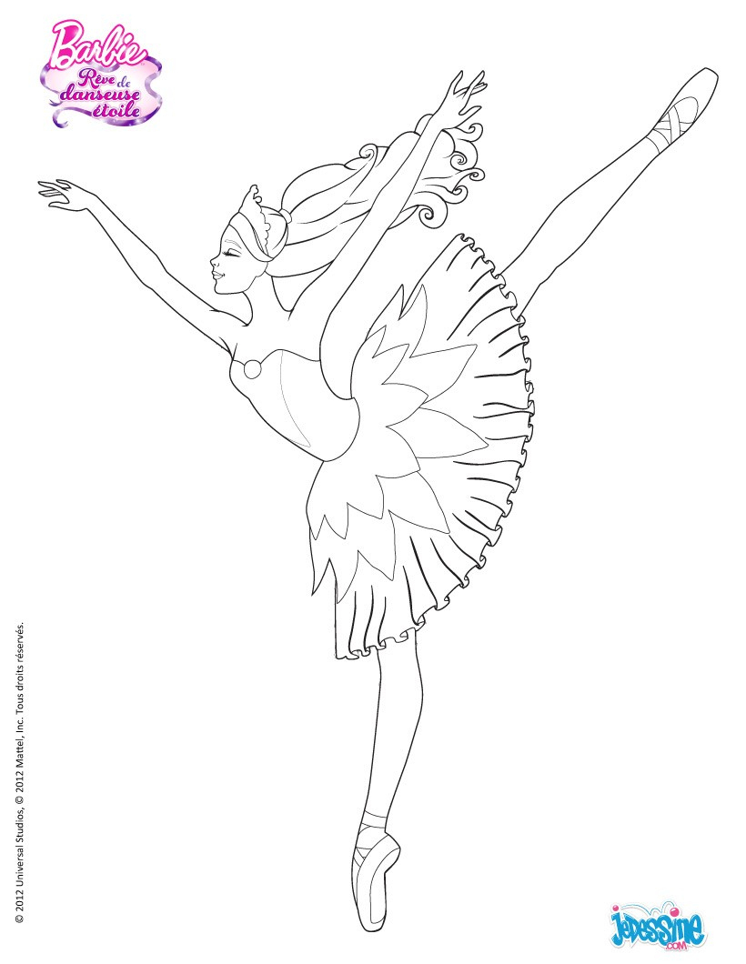 Coloriage204: Coloriage Danseuse Étoile intérieur Dessin De Danseuse A Imprimer