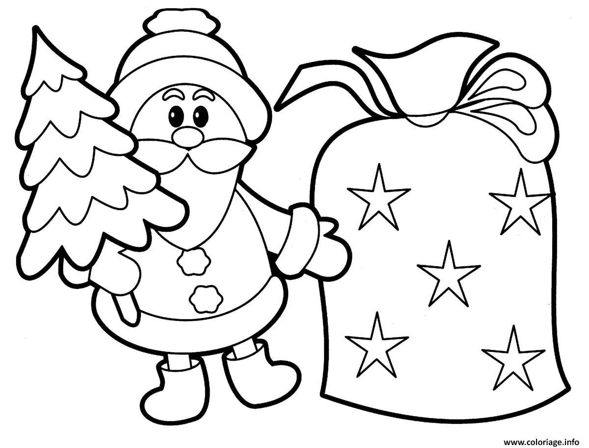 Coloriages À Imprimer : Père Noël, Numéro : 37B25264 dedans Pere Noel À Colorier Et Imprimer