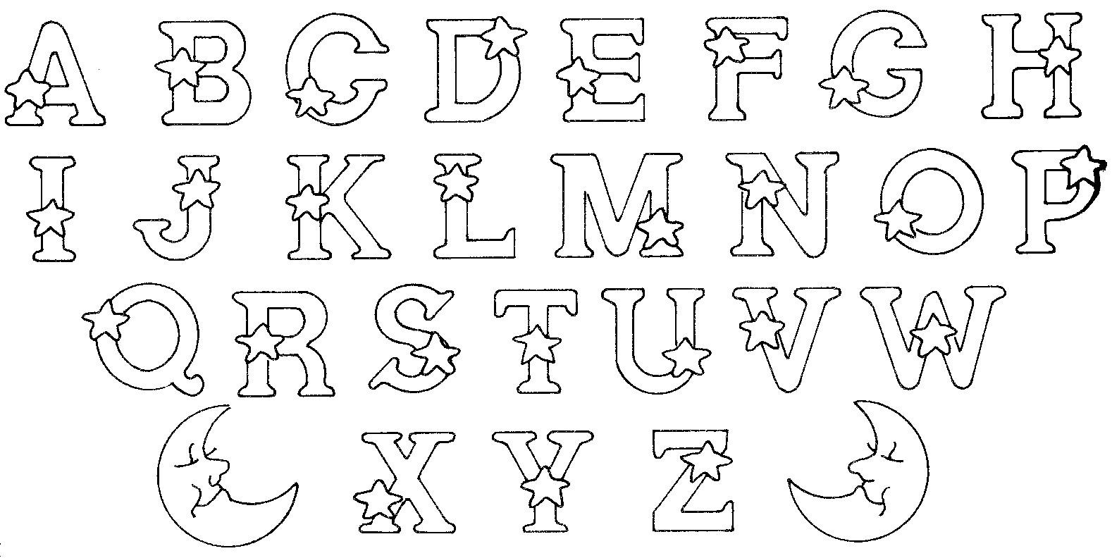 Coloriages Alphabet Et Lettres à Coloriage Alphabet Complet A Imprimer