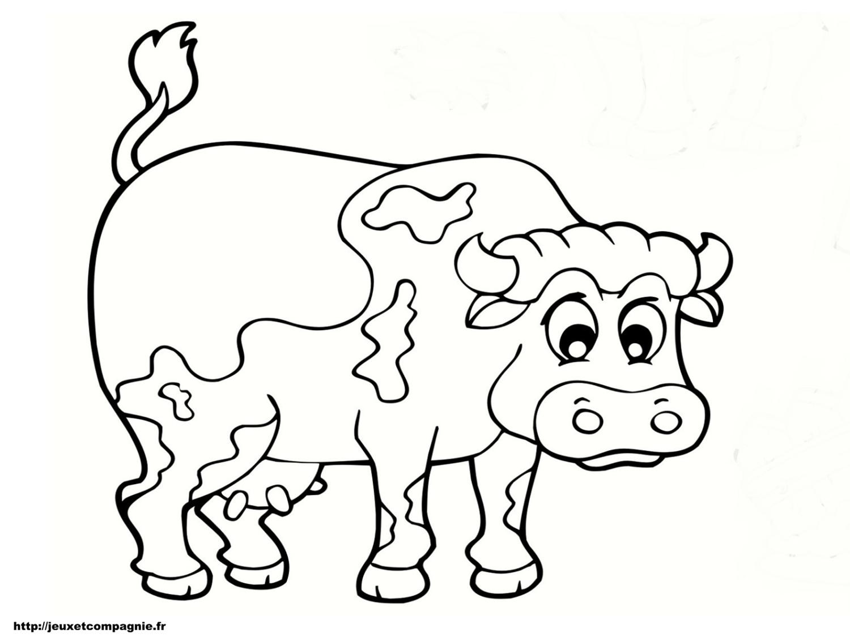 Coloriages Animaux De La Ferme avec Animaux De La Ferme A Imprimer