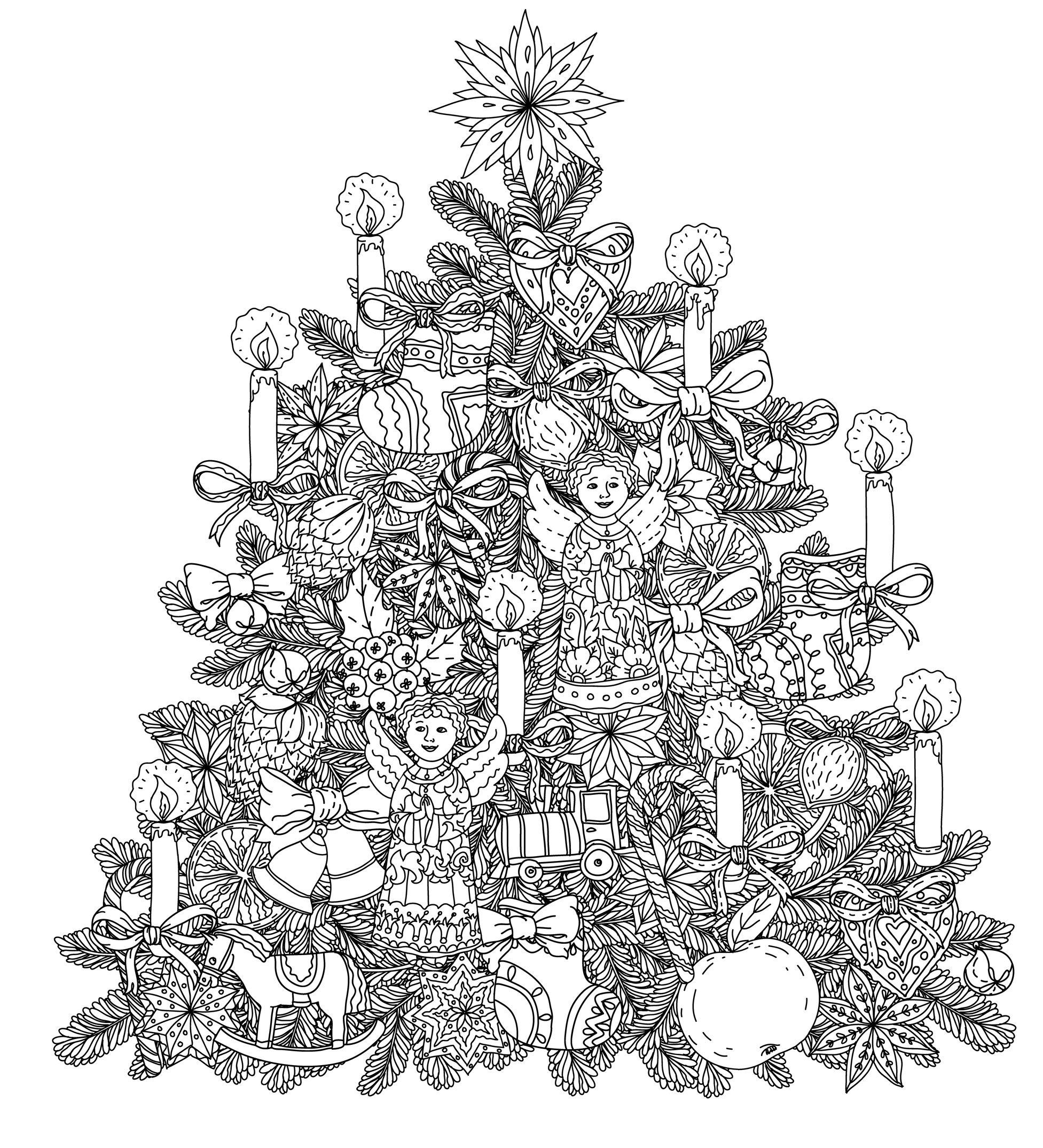 Coloriages De Noël - Coloriages Pour Enfants encequiconcerne Coloriage Village De Noel