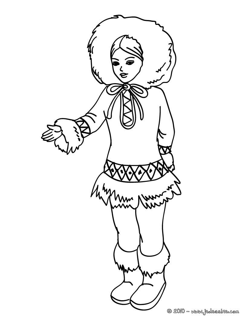 Coloriages Princesse Sirène - Fr.hellokids avec Coloriage Princesse Sirene