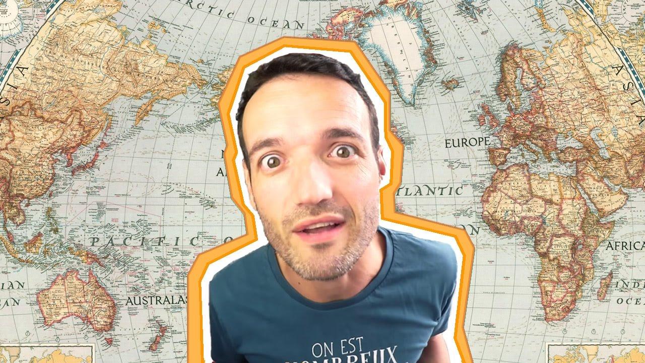 Comment Apprendre Les Cartes De Géographie ! destiné Apprendre Carte De France