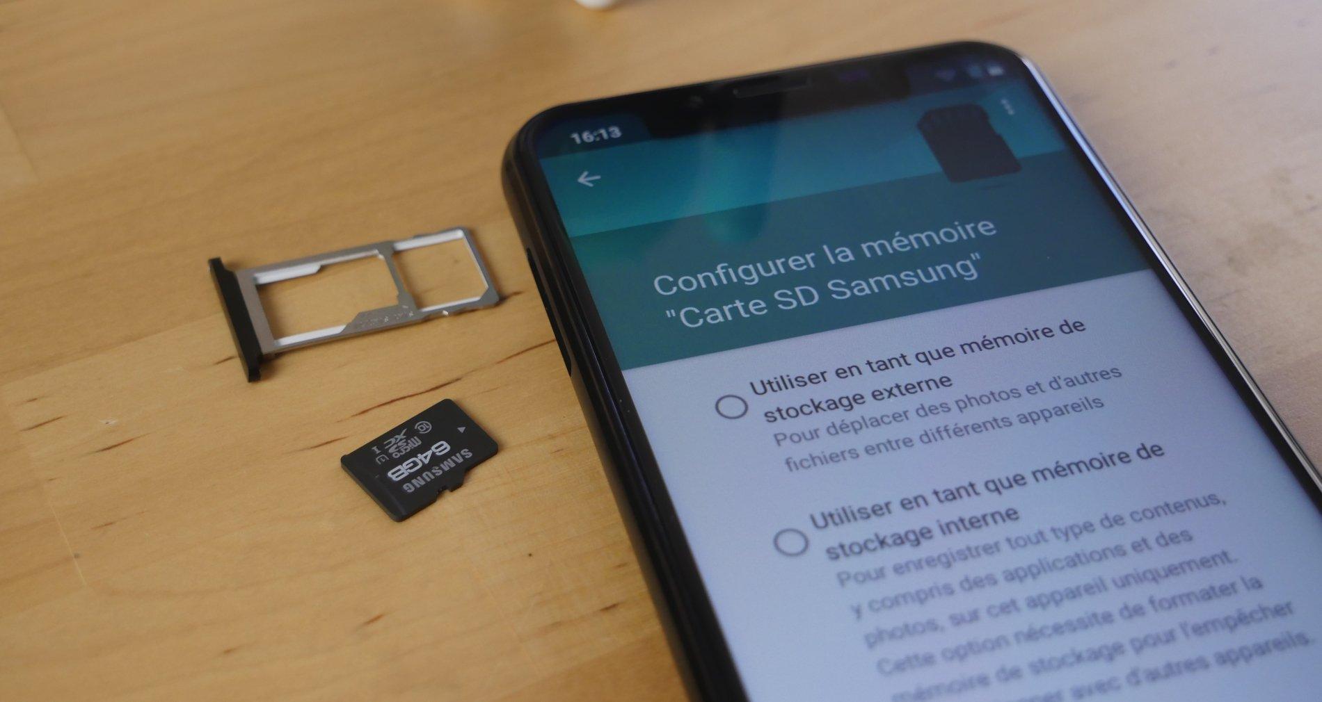 Comment Copier Ou Déplacer Ses Fichiers Et Applications Vers dedans Lire Carte Memoire Sur Pc