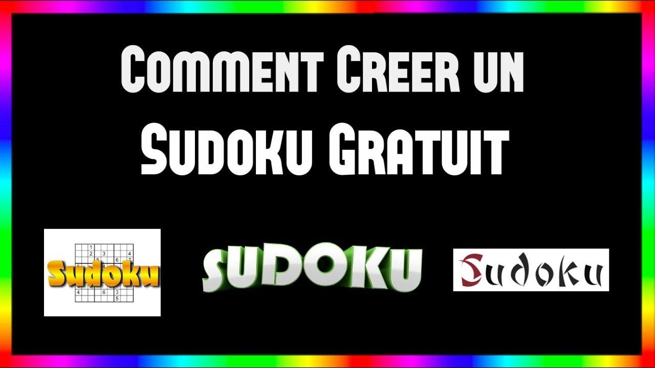 Comment Creer Un Sudoku Gratuit intérieur Logiciel Sudoku Gratuit