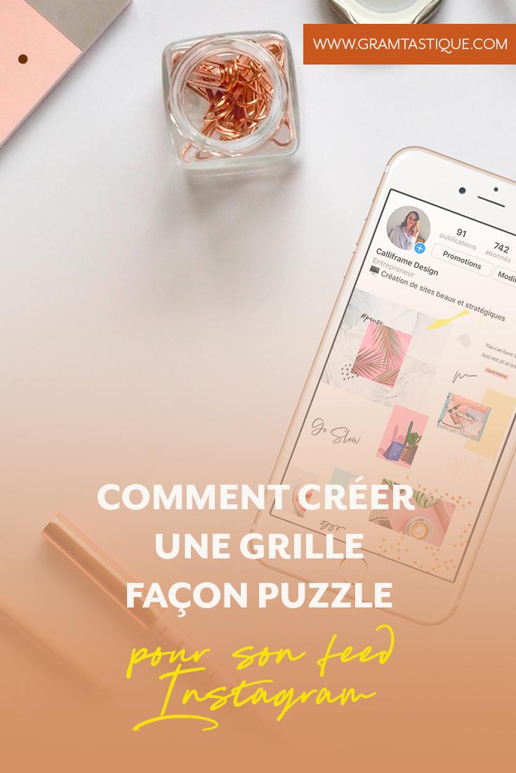 Comment Créer Une Grille Façon Puzzle Sur Instagram tout Puzzle A Faire En Ligne