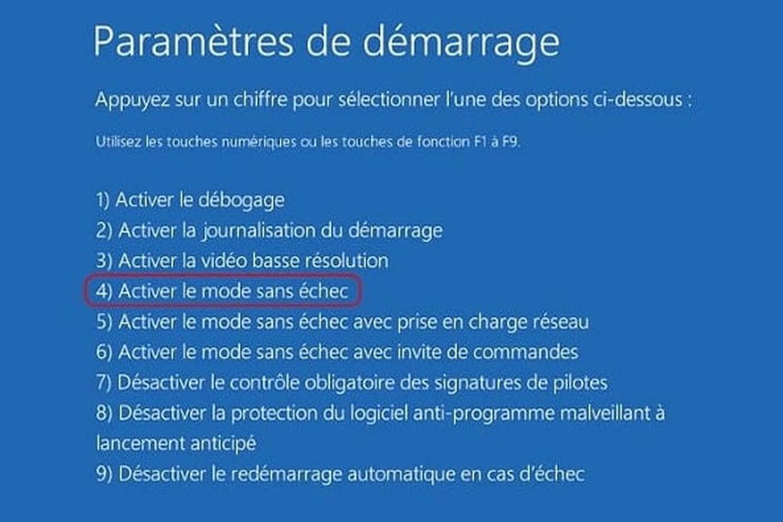 Comment Démarrer Windows En Mode Sans Échec encequiconcerne Ordi Mots