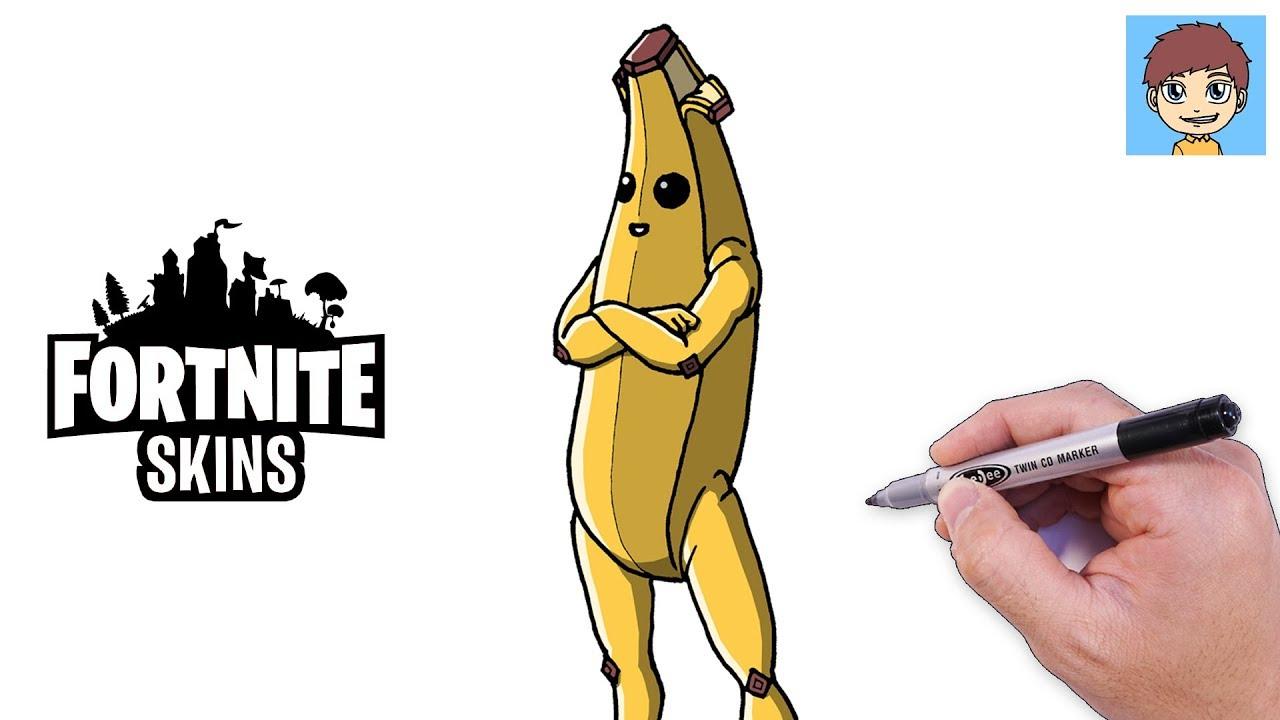 Comment Dessiner Fortnite Banana Peely Facilement – Dessin Facile A Faire -  Dessin Fortnite encequiconcerne Dessiner Une Banane