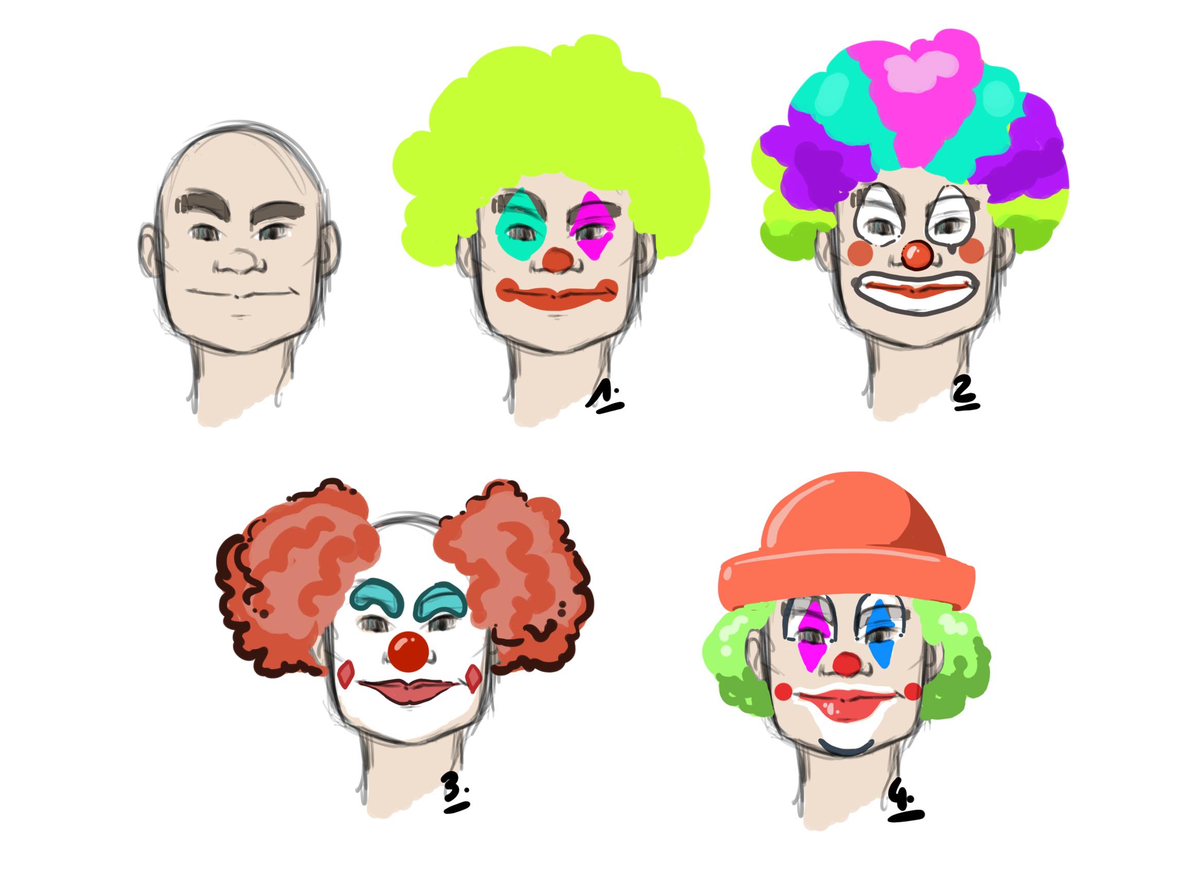 Comment Dessiner Un Clown - Dessindigo destiné Dessin De Clown En Couleur
