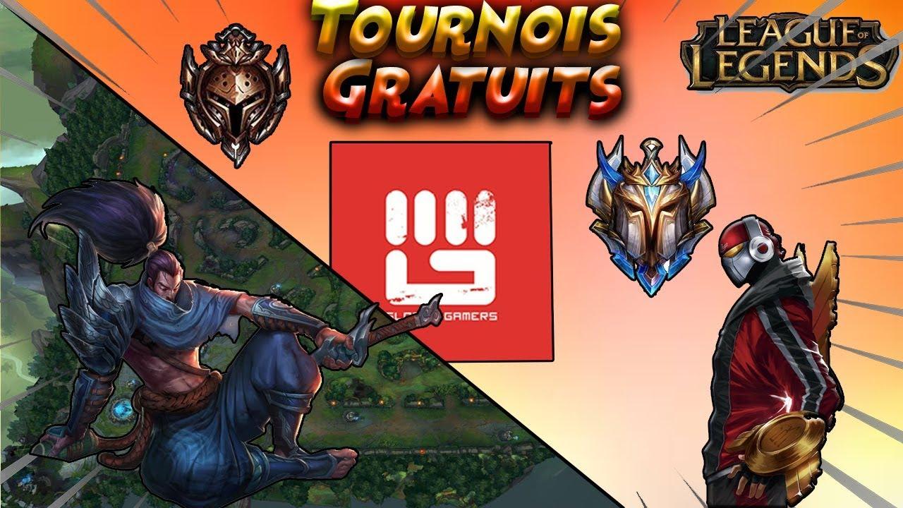 Comment Faire Des Tournois Gratuits League Of Legends (Et Plein D'autres  Jeux) dedans Lol Jeux Gratuit