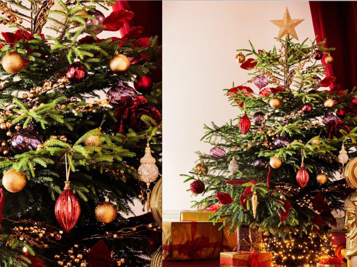 Comment Réussir La Décoration De Son Sapin De Noël : Femme intérieur Fleche Pour Sapin De Noel