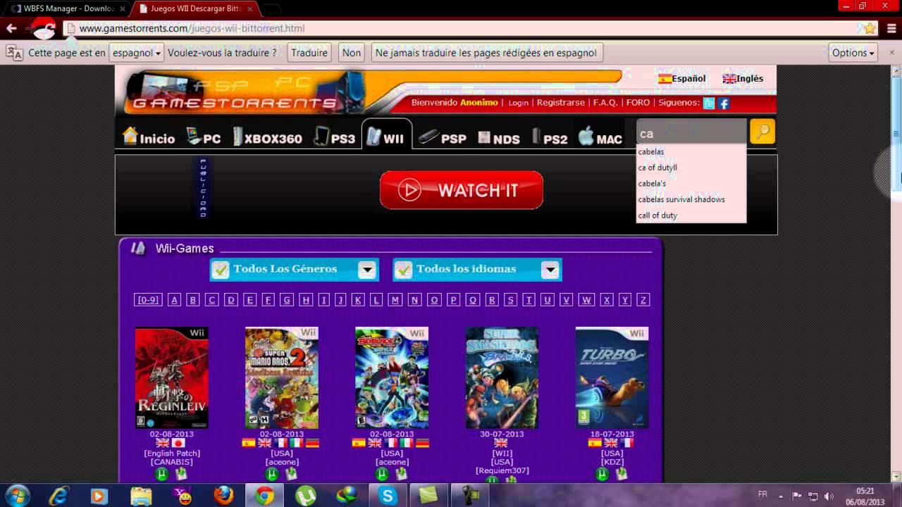 Comment Télécharger Des Jeux Wii Et Les Mettre Dans Un Usb concernant Site De Telechargement De Jeux Gratuit