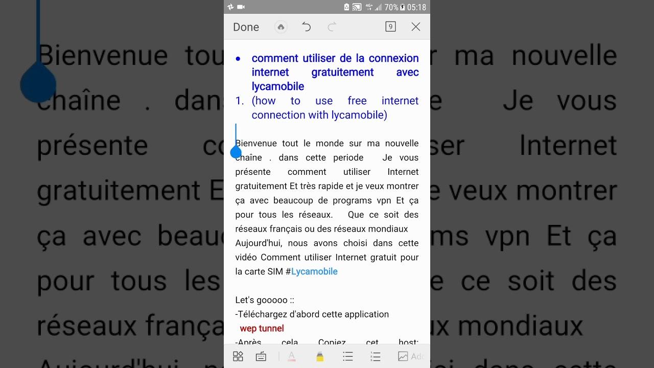 Comment Utiliser De La Connexion Internet Gratuitement Avec Lycamobile  France avec Carte Nouvel An Gratuite
