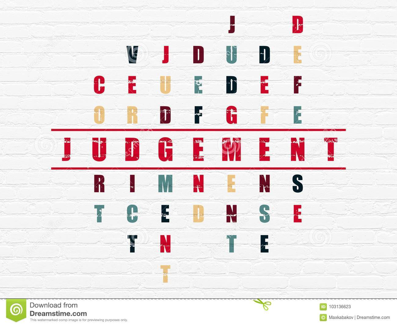Concept De Loi : Jugement Dans Le Jeu De Mots Croisé à Application Jeux De Mots