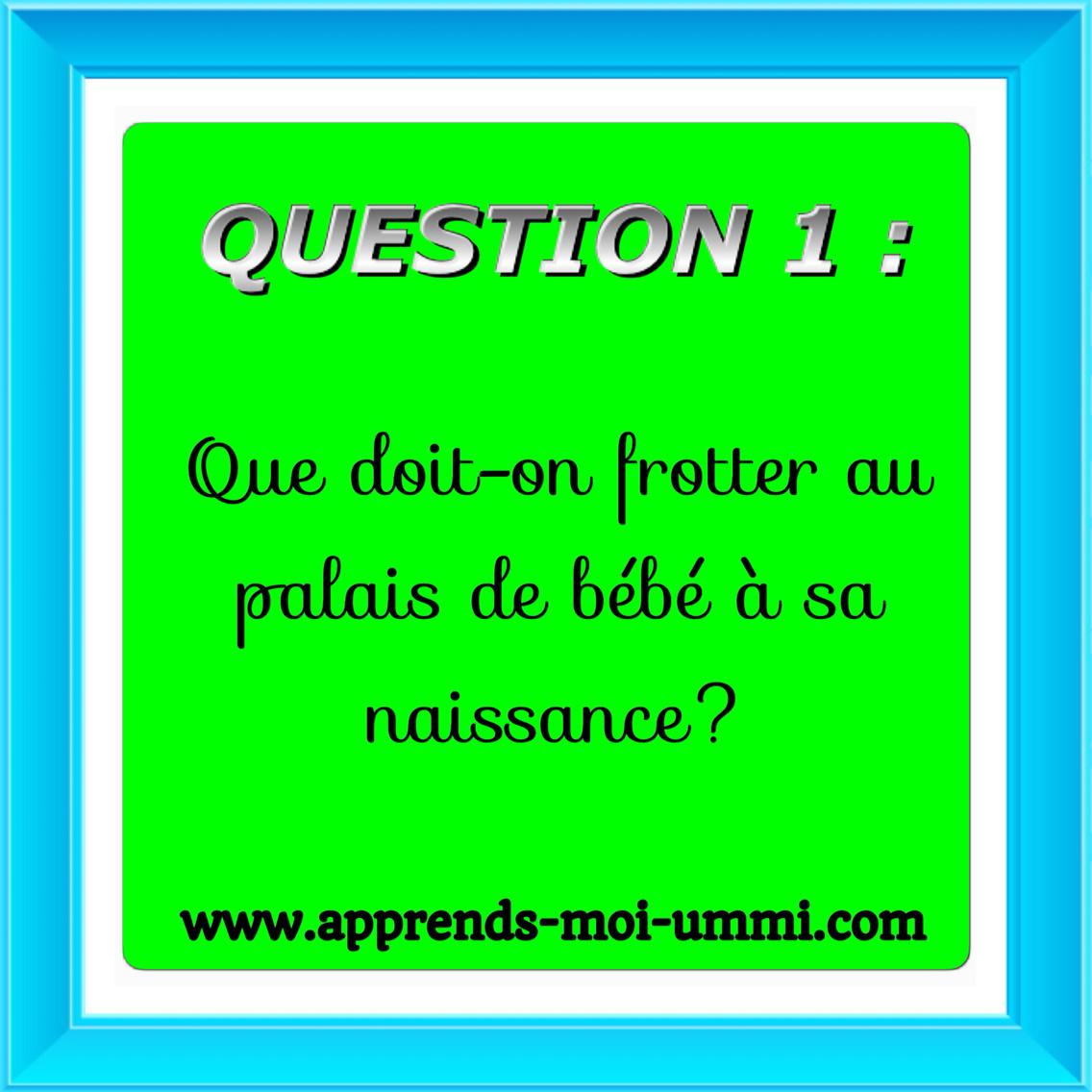 Concours : Quizz Islamique! - Apprends Moi Ummi concernant Quizz Enfant