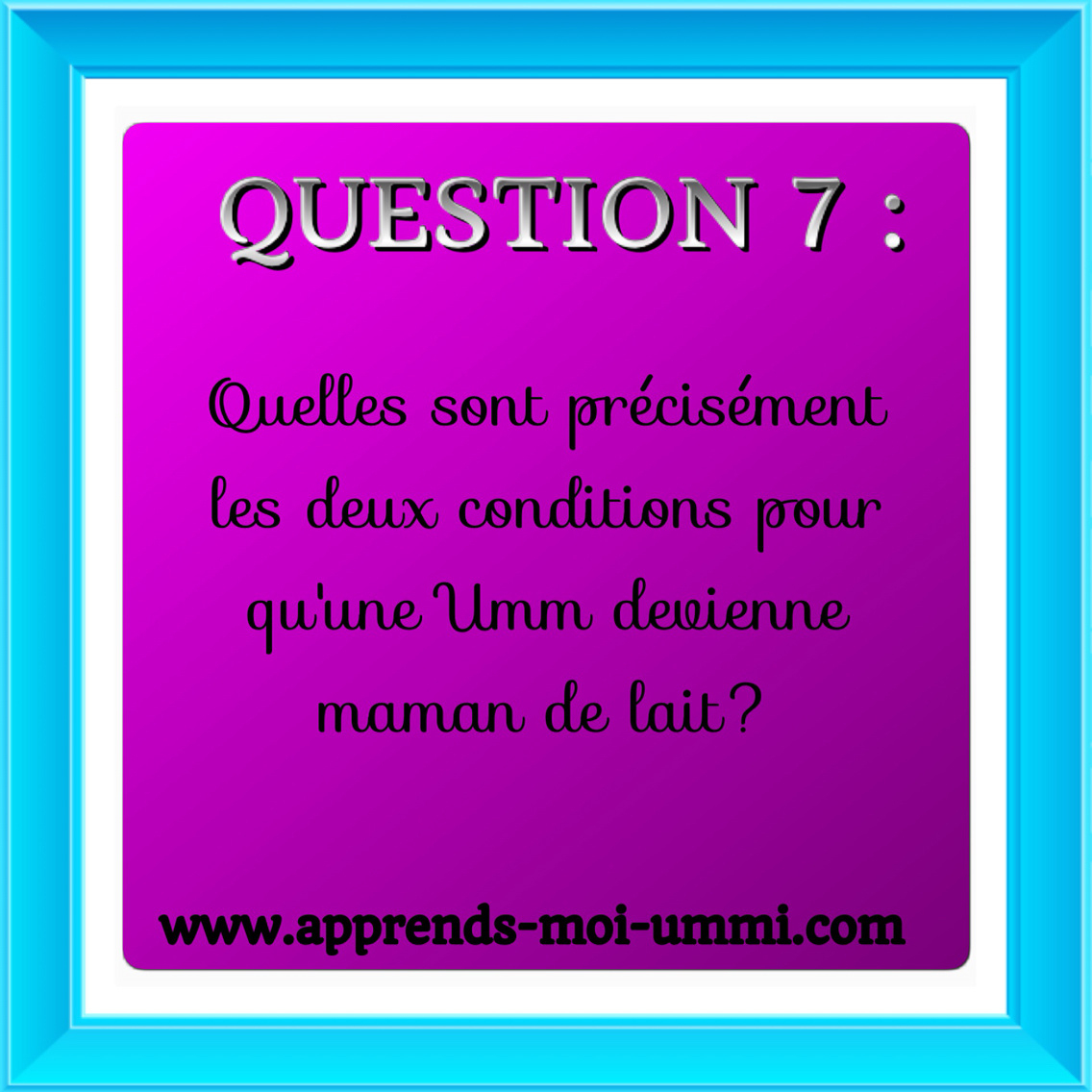Concours : Quizz Islamique! - Apprends Moi Ummi encequiconcerne Quizz Enfant