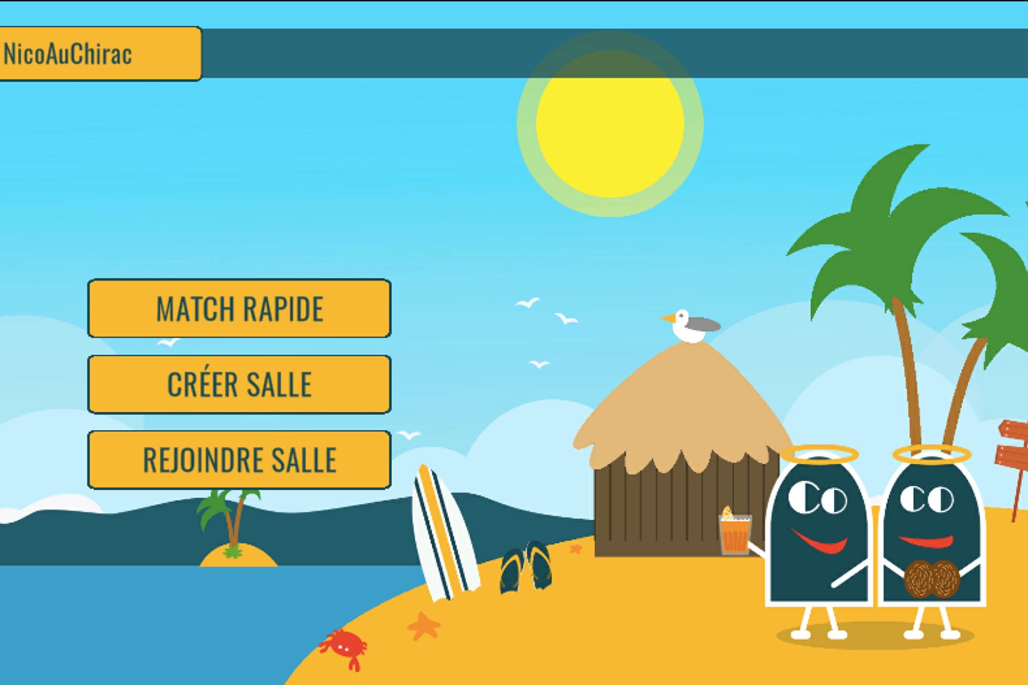 Confinement : Le Jeu Blanc-Manger Coco Disponible En Ligne intérieur Jeux Internet Gratuit Francais
