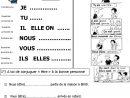 Conjugaison Cp | Le Blog De Monsieur Mathieu avec Exercice Cm1 Conjugaison À Imprimer