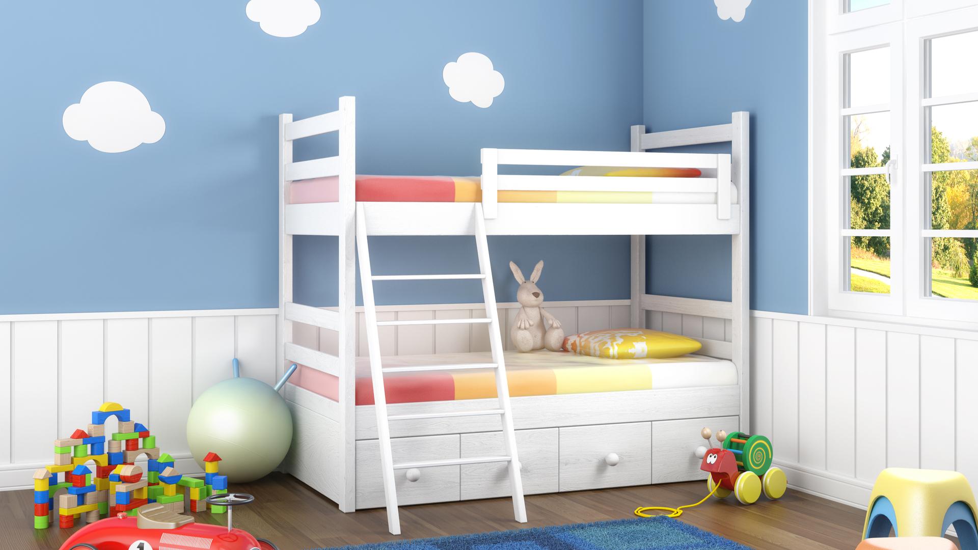 Conseils Et Sélection De Peintures Pour Chambres D'enfants destiné Jeux De Peinture Pour Fille