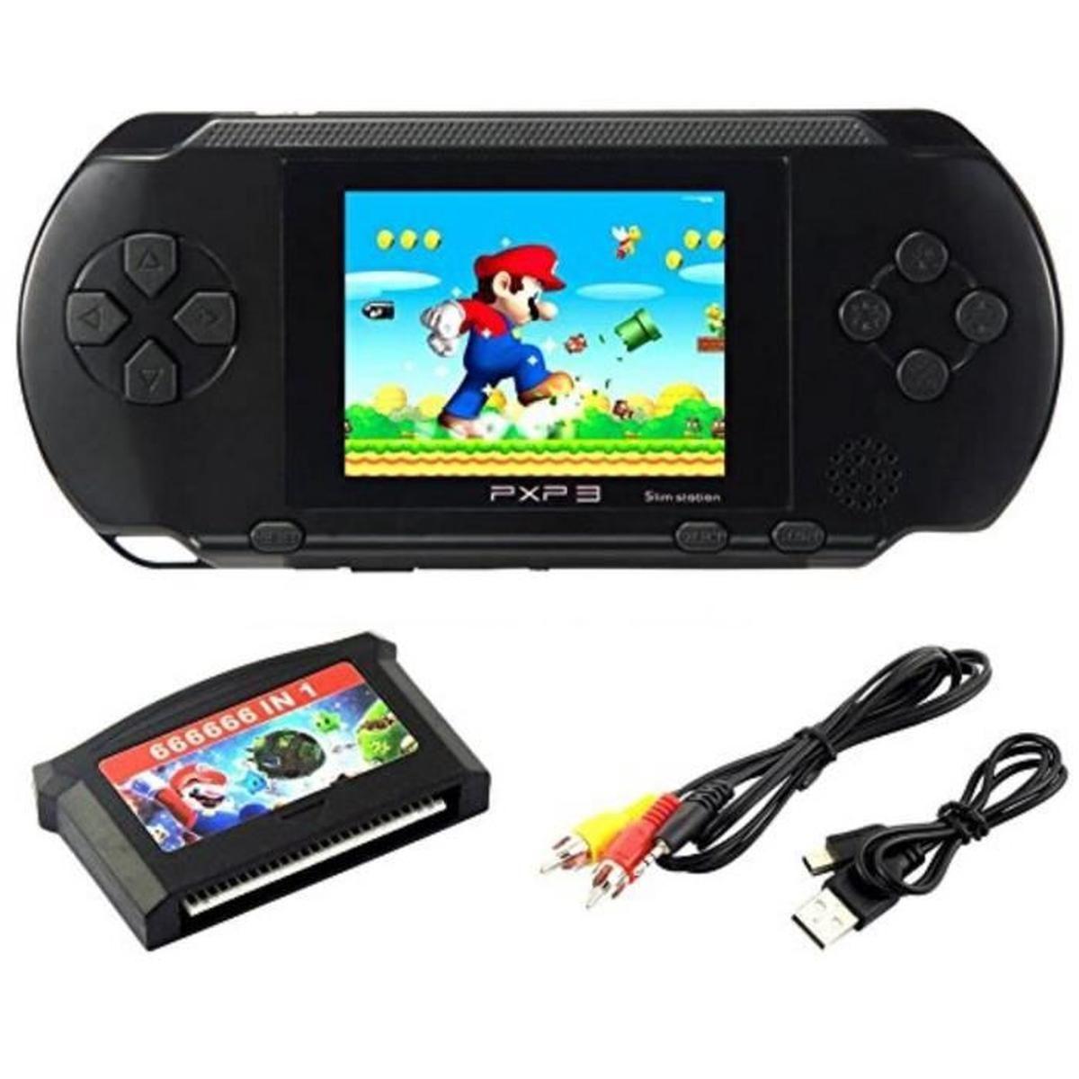 """Console De Jeu Pour Ordinateur Portable Lcd 2,7 """"pxp 3 16Bit serapportantà Ordinateur Educatif 3 Ans"""