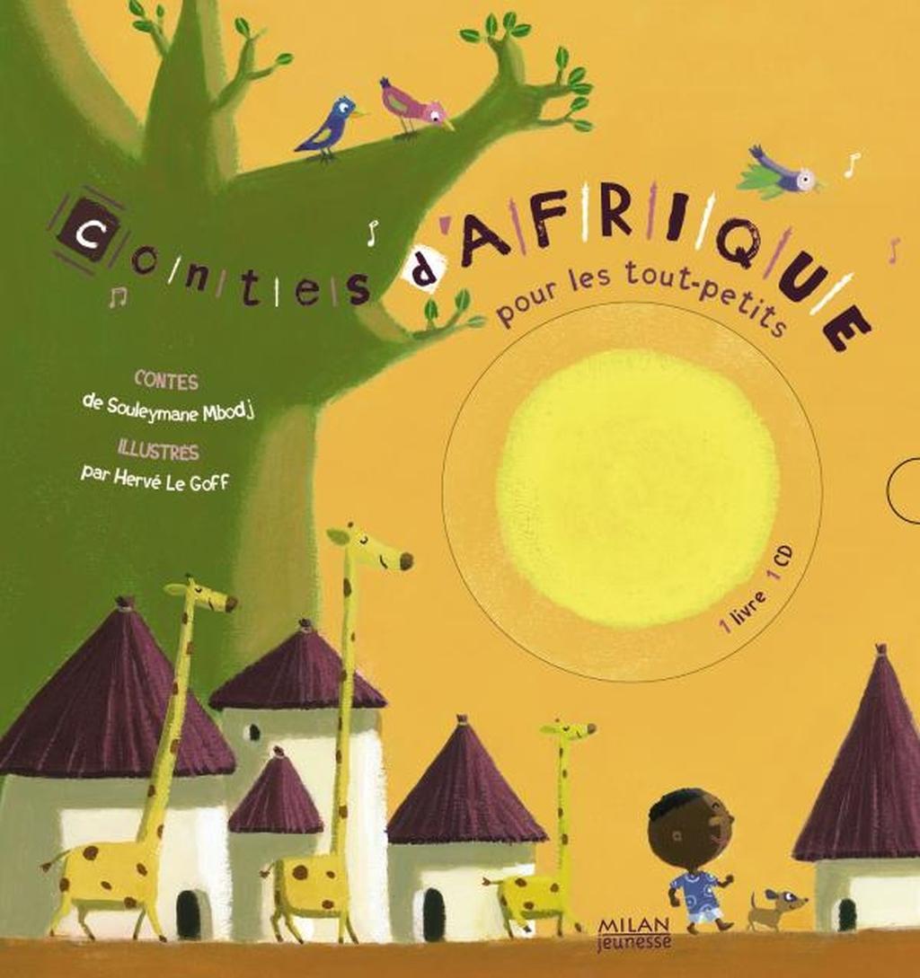 Contes D'afrique Pour Les Tout-Petits + Cd - Editions Milan encequiconcerne Activité Manuelle Afrique